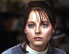 """Jodie Foster in """"The Silence of the Lambs"""" Best Actress Oscar 1991 Jodie Foster, Charles Foster, Clarice Starling, Thomas Harris, Best Actress Oscar, Female Of The Species, The Last Movie, Les Paul Guitars, Movies"""