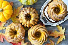 Pumpkin cakes, autumn food by Saschanti on Creative Market