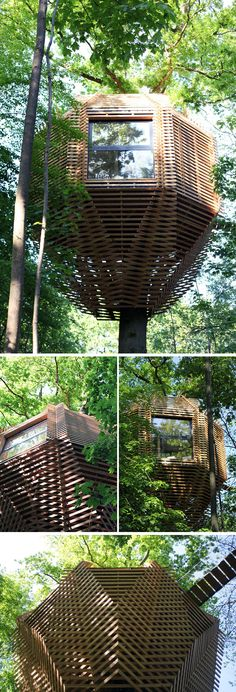 Atelier LAVIT Have Designed The ORIGIN Tree House For Their Clients In  France Who Wanted To