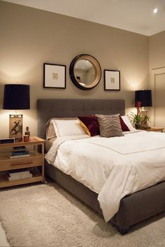 bedroom decorating ideas no windows - Google Search