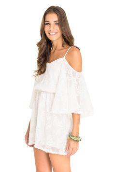 Vestido ombro vazado - Vestidos   Dress to