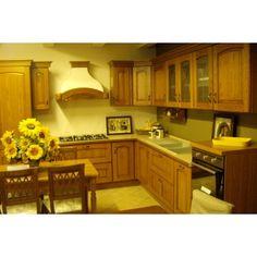Cucina LUBE Classica 'MILVA'  Elettrodomestici inclusi!  Lavello fragranite ELLECI  Piano cottura 90cm 5 fuochi INDESIT  Forno ventilato INDESIT  Frigo combinato INDESIT http://www.mobistock.it/cucina-lube-milva.html#sthash.fd3vxdYT.dpuf