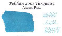 Pelikan 4001 Turquoise (62.5ml Bottle) Fountain Pen Ink