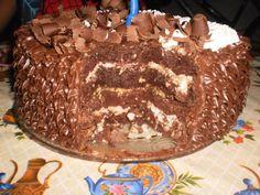 Receita de pão de ló de chocolate, uma receita simples de fazer e deliciosa. Experimente!! Quem curtiu dá um UP!!! http://cakepot.com.br/receita-de-pao-de-lo-de-chocolate/