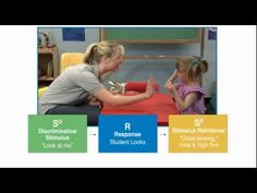 Discrete Trial Teaching - Autism Therapy Video  - Presenting a learning opportunity in which the student's correct response will be reinforced.