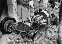 Elio de Angelis fatal crash.
