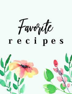 Organize your entire recipe collection in one pretty spot. This free printable recipe binder has 25 pages for your recipe keeping. It's time to make your DIY recipe binder.
