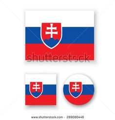 Slovakia Flag, Vector Icons, Royalty Free Stock Photos, Diagram, Illustration, Pictures, Image, Art, Photos
