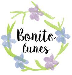 Clipart flores acuarela y cartelitos bonitos