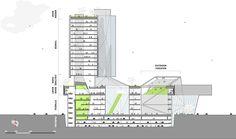 """Arquitetos americanos vencem competição internacional para """"Shopping Cultural"""" na China"""