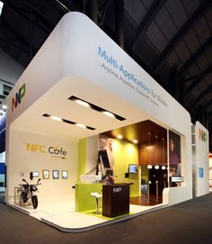 NXP Stand - Front View