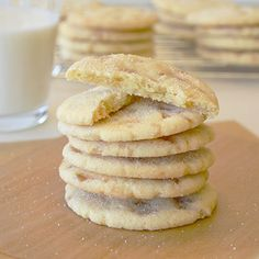 Sparkling Butter Toffee Cookies from Land O'Lakes