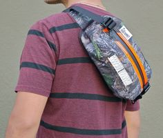 "Road Runner Bags ""Lil Guy"" Mini Pack & Hip Bag (Black) by Road Runner Bags 
