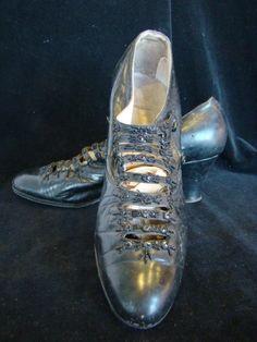 edwardian beaded shoes Edwardian Shoes, Edwardian Dress, Edwardian Fashion, Paolo Nutini, Beaded Shoes, Shoe Sale, New Shoes, Front Row, Louis Vuitton