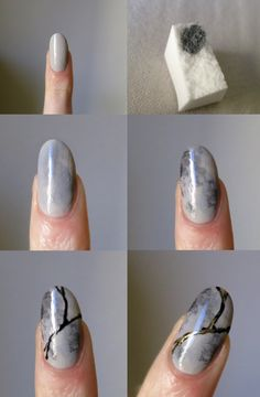 Marble nails are a very big hit this new year 2017. Ask ur nail tech or see do it ur self! Have fun u can't mess up! Only unique!