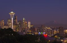 Seattle Skyline from Kerry Park by jacobC