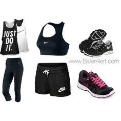 Athletic Wear by peachkyss, via Polyvore