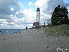 Crisp Point Light, Grand Marais, Michigan ~ September 2012 Grand Marais Michigan, Point Light, Light House, Crisp, September, Awesome, Lighthouses, Lighthouse, Candle Holders