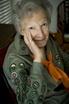 Girl Scouts at 100: Still 'courageous and strong' - The Orange County Register Alice Wheaton (92), still fits in the Girl Scout uniform she wore as a young woman.