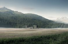 Projects | Misty Hotel Visual for Philip Loskant - Architectural Visualization by Nightnurse Images Image 3d, New Image, Hotels, New York, Mountains, Architecture, Nature, Projects, Travel