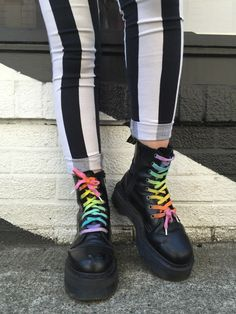 Ariana, employee at the Portland, Oregon store wears the Jadon boots.