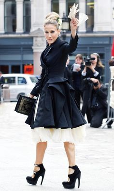 September 20, 2010  Where: At the Alexander McQueen memorial service.