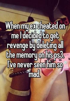 makeuphall:16 Cheating Revenge Stories That Will Make You Glad http://www.qunel.com/  fashion street style beauty makeup hair men style womenswear shoes jacket