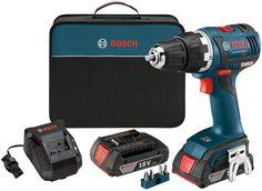 Bosch 18V DDS182 Drill Driver Kit