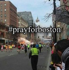 To any of our followers near Boston please stay safe! I'm praying for everyone involved! -Elle