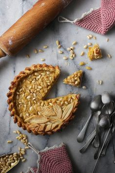 Pine Nut Rum And Lemon Golden Pie Dessert Recipes Baking Whole Foods