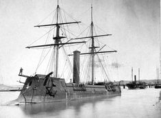 The CSS Stonewall , a 1,390 ton ironclad built in Bordeaux, France for the Confederate Navy in 1864.