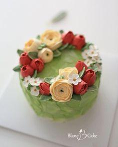 koreanflowercake