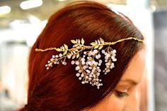 Twigs and Honey headpiece
