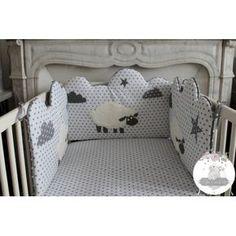 Tour de lit Mazarine moutons