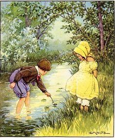 Illustration divers - Enfants Clara M Burd