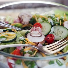 How to Make a 7- Layer Salad