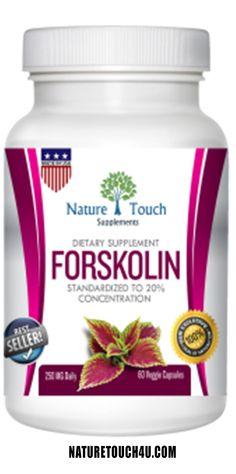 100% PURE NATURAL forskolin extract (coleus forskohlii)