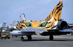 Dassault  Mirage 2000 in Tiger scheme - Armee De L'Air (French Air Force), France