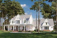 Family House Plans, Best House Plans, Colonial House Plans, House Plans With Porches, Low Cost House Plans, Large House Plans, Acadian House Plans, 5 Bedroom House Plans, Unique House Plans