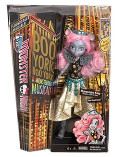 Monster High Boo York, Boo York Gala Ghoulfriends Mouscedes King In Box Monster High Cosplay, Monster High Toys, Monster High Birthday, Monster High Party, Ninja Turtle Birthday, Ninja Turtle Party, Frozen Party Games, Slumber Party Games, My Little Pony Dolls