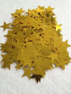 Big Gold Star metallic confetti by BoutousCreations on Etsy, $2.00