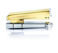 Russell & Hazel gold and acrylic stapler, plus 14 other chic office accessories to upgrade your work space.