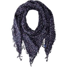 Keds Square Scarf with Fringe ($30) ❤ liked on Polyvore featuring accessories, scarves, viscose scarves, keds, fringed shawls, lightweight scarves and fringe scarves