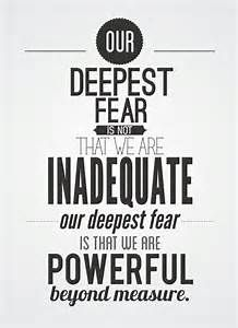 Deepest Fear Coach Carter Quote - Bing Images