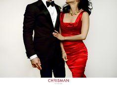 Tuxedo: Lanvin, Dress: Dolce & Gabbana