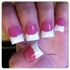 Nails French tip