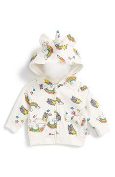 Unicorn Hoodie (Baby Girls)