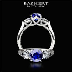 Blue Sapphire Engagement Ring!