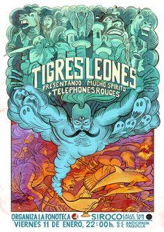 Presentación 'Mucho Spirito' Tigres Leones
