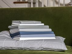 A Brooklinen Classic Core Sheet Set plus 1 Classic Duvet Cover & 2 Extra Classic Pillowcases - in your choice of patterns. Feel free to mix and match!